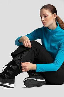 Spodnie narciarskie damskie SPDN270 - głęboka czerń