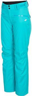 Spodnie narciarskie damskie SPDN270 - turkus