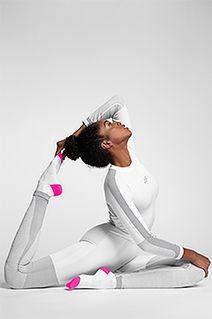 Bielizna bezszwowa damska (body) BIDB102G - biały