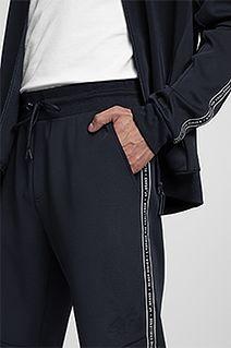 Spodnie dresowe męskie SPMD205 - granat
