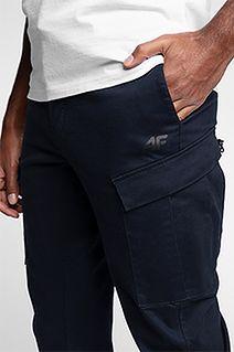 Spodnie sportstyle męskie SPMC201 - granat