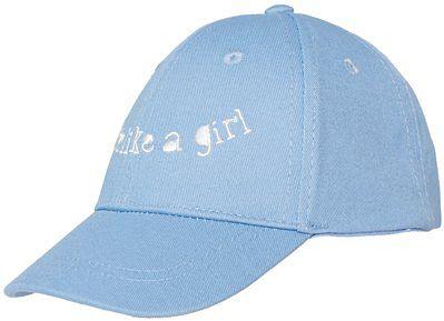Czapka dla małych dzieci (dziewczynek) JCAD108 - jasny niebieski