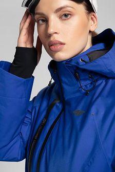 Kurtka narciarska damska KUDN206 - kobalt