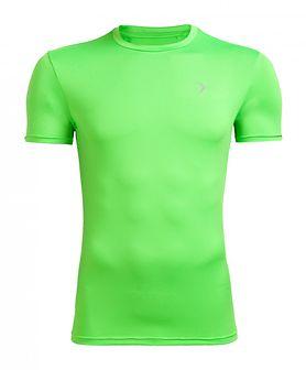 Koszulka treningowa męska TSMF600 - soczysta zieleń