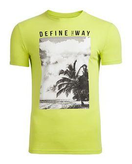 T-shirt męski TSM607 - soczysta zieleń