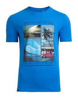 T-shirt męski TSM606 - niebieski