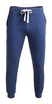 Spodnie dresowe męskie SPMD600 - denim melanż