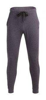Spodnie dresowe męskie SPMD600 - ciemny szary melanż