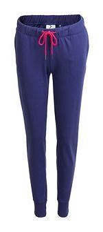 Spodnie dresowe damskie SPDD600 - granatowy