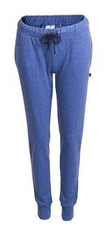 Spodnie dresowe damskie SPDD600 - denim melanż