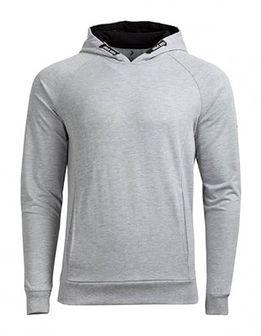 Bluza męska BLM601A - średni szary melanż