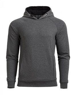 Bluza męska BLM601A - ciemny szary melanż
