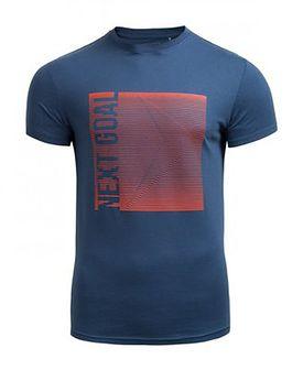T-shirt męski TSM610 - GRANATOWY