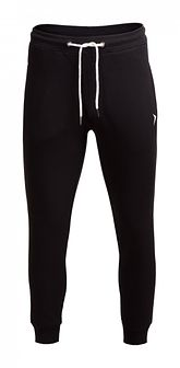 Spodnie dresowe męskie SPMD601 - CZARNY