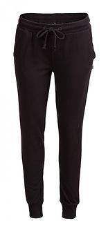 Spodnie dresowe damskie SPDD602 - CZARNY