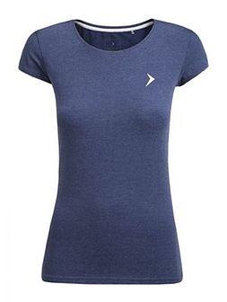 T-shirt damski  TSD616 - denim melanż