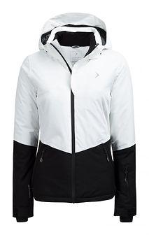 Kurtka narciarska damska KUDN620 - biały