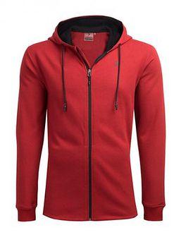 Bluza męska BLM605 - czerwony melanż