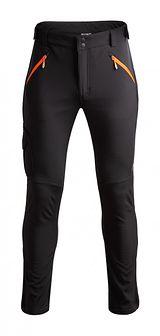 Spodnie trekkingowe męskie SPMT600 - głęboka czerń
