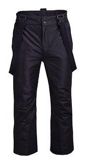 Spodnie narciarskie męskie SPMN600 - głęboka czerń