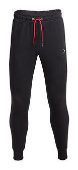 Spodnie dresowe męskie SPMD601 - głęboka czerń