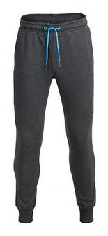 Spodnie dresowe męskie SPMD601 - ciemny szary melanż