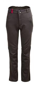 Spodnie trekkingowe damskie SPDT600 - głęboka czerń