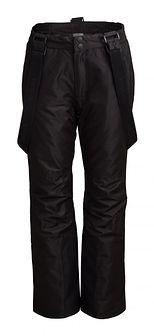Spodnie narciarskie damskie SPDN600 - głęboka czerń