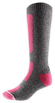 Skarpety narciarskie damskie SODN600 - różowy
