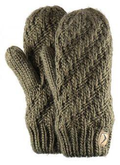 Rękawiczki damskie REU608 - khaki