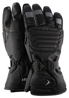 Rękawice narciarskie męskie REM602 - głęboka czerń
