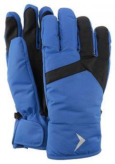Rękawice narciarskie męskie  REM601 - niebieski