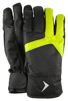 Rękawice narciarskie męskie REM601 - głęboka czerń