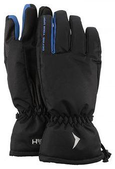 Rękawice narciarskie męskie REM600 - głęboka czerń
