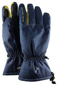 Rękawice narciarskie męskie REM600 - ciemny granat melanż