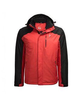 Kurtka narciarska męska KUMN602 - czerwony