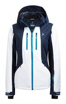Kurtka narciarska damska KUDN621 - biały