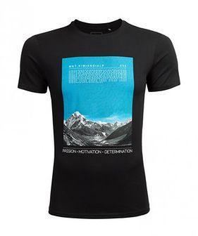 T-shirt męski TSM627 - głęboka czerń