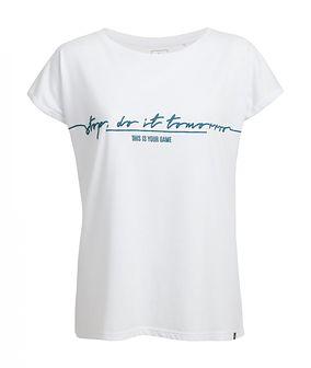 T-shirt damski TSD612 - biały