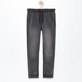 Reserved - Jeansowe spodnie jogger - Szary