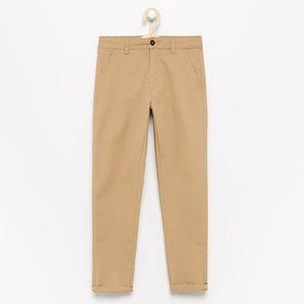 Reserved - Spodnie chino - Beżowy