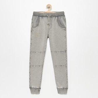 Reserved - Spodnie dresowe - Jasny szar
