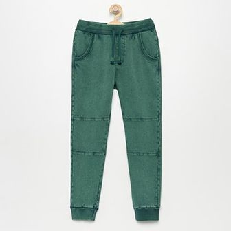Reserved - Spodnie dresowe - Zielony