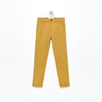 Reserved - Spodnie chino - Brązowy