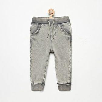 Reserved - Spodnie dresowe - Jasny szary