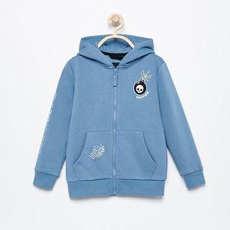 Reserved - Bluza z kapturem - Niebieski