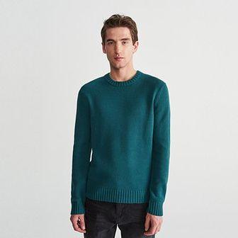 Reserved - Sweter - Turkusowy