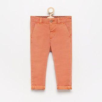 Reserved - Spodnie chino - Pomarańczowy