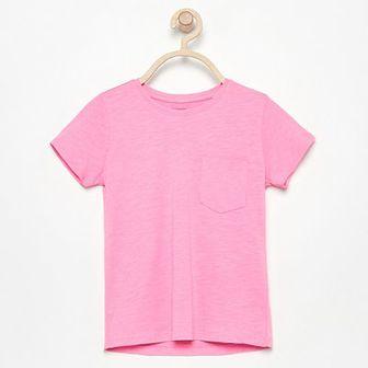 Reserved - T-shirt z bawełny organicznej - Różowy