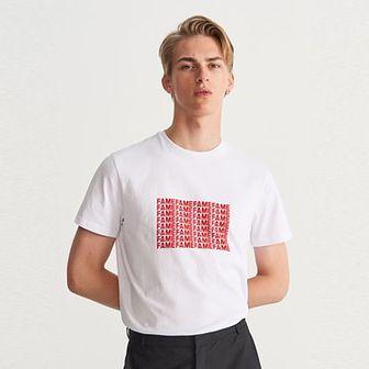 Reserved - T-shirt Heroes - Biały